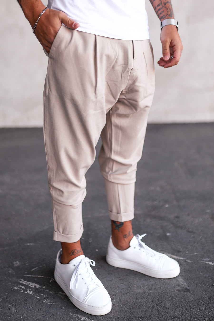 Cropped Pants P1069BE