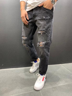 Destroyed Relaxed Denim 4751