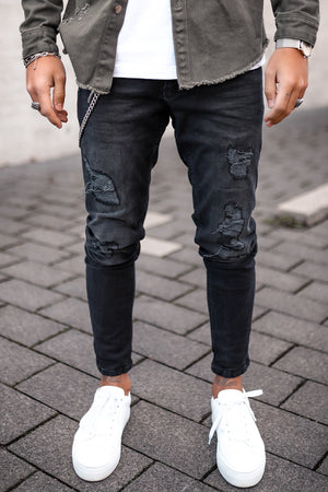 Destroyed Skinny Denim 5080