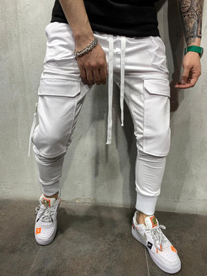 Cargo Pants with zippers BRS5079W