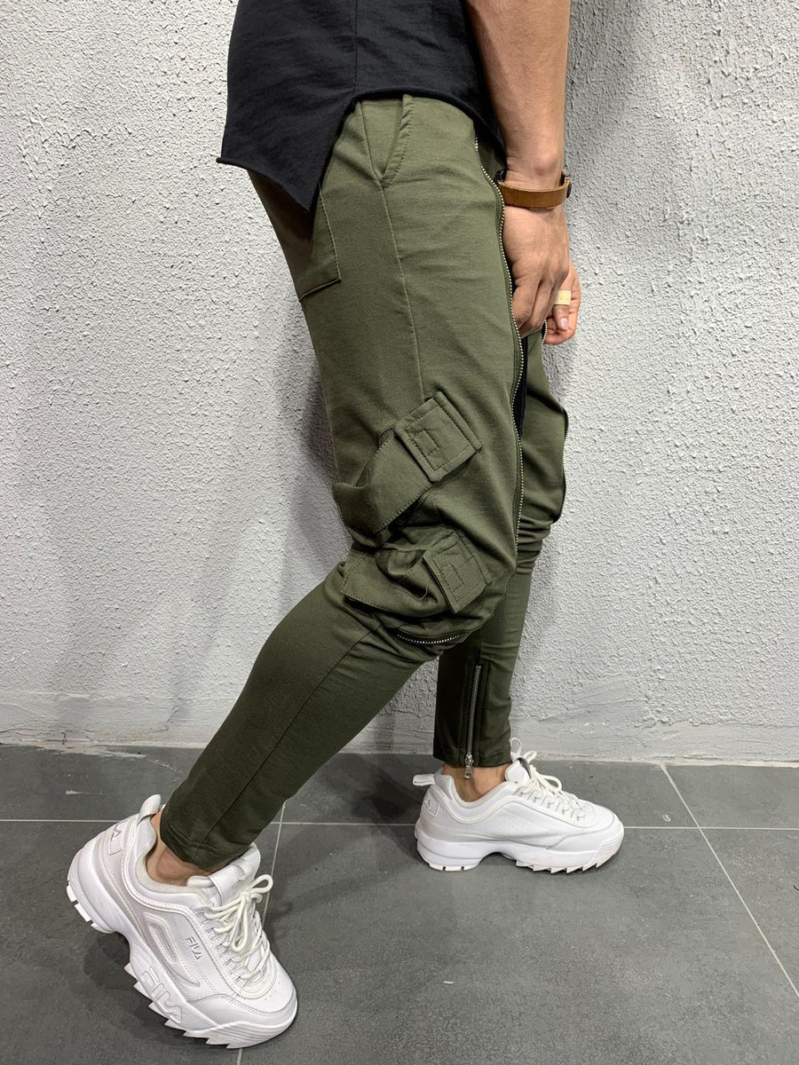 Jogger with zip detail BRS5103A