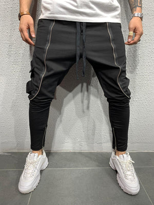 Jogger with zip detail BRS5103B