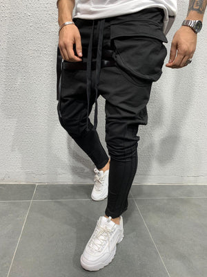 Cargo Pants with tapes BRS5104