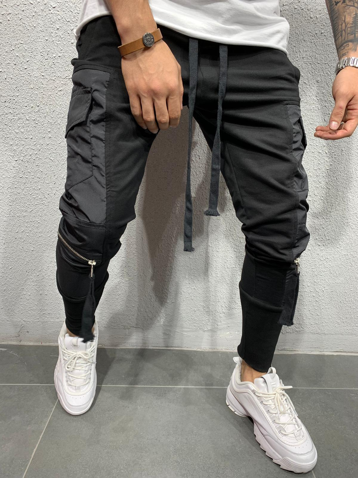 Cargo Pants with zippers BRS5105B