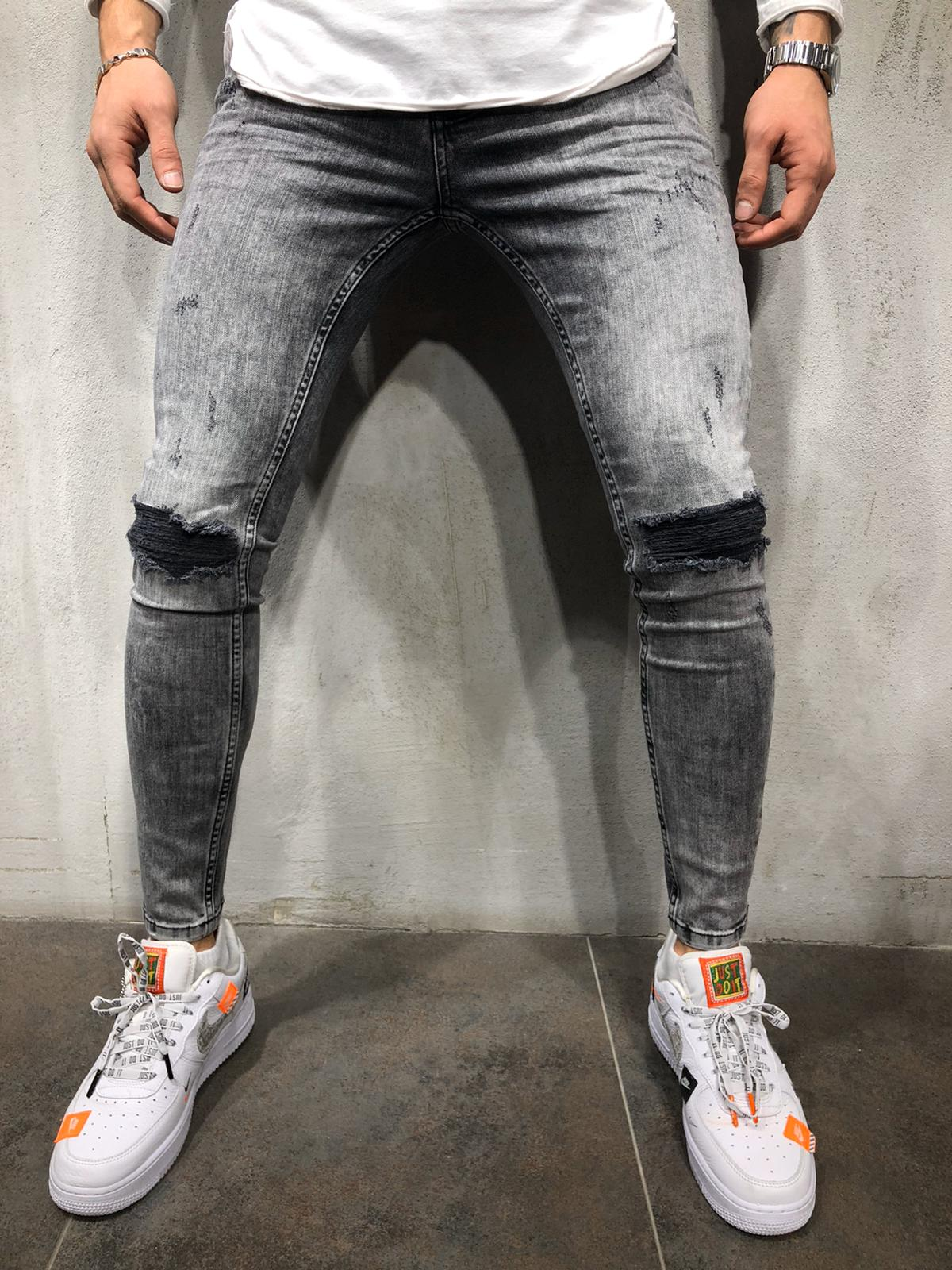 Destroyed Skinny Denim DF1020