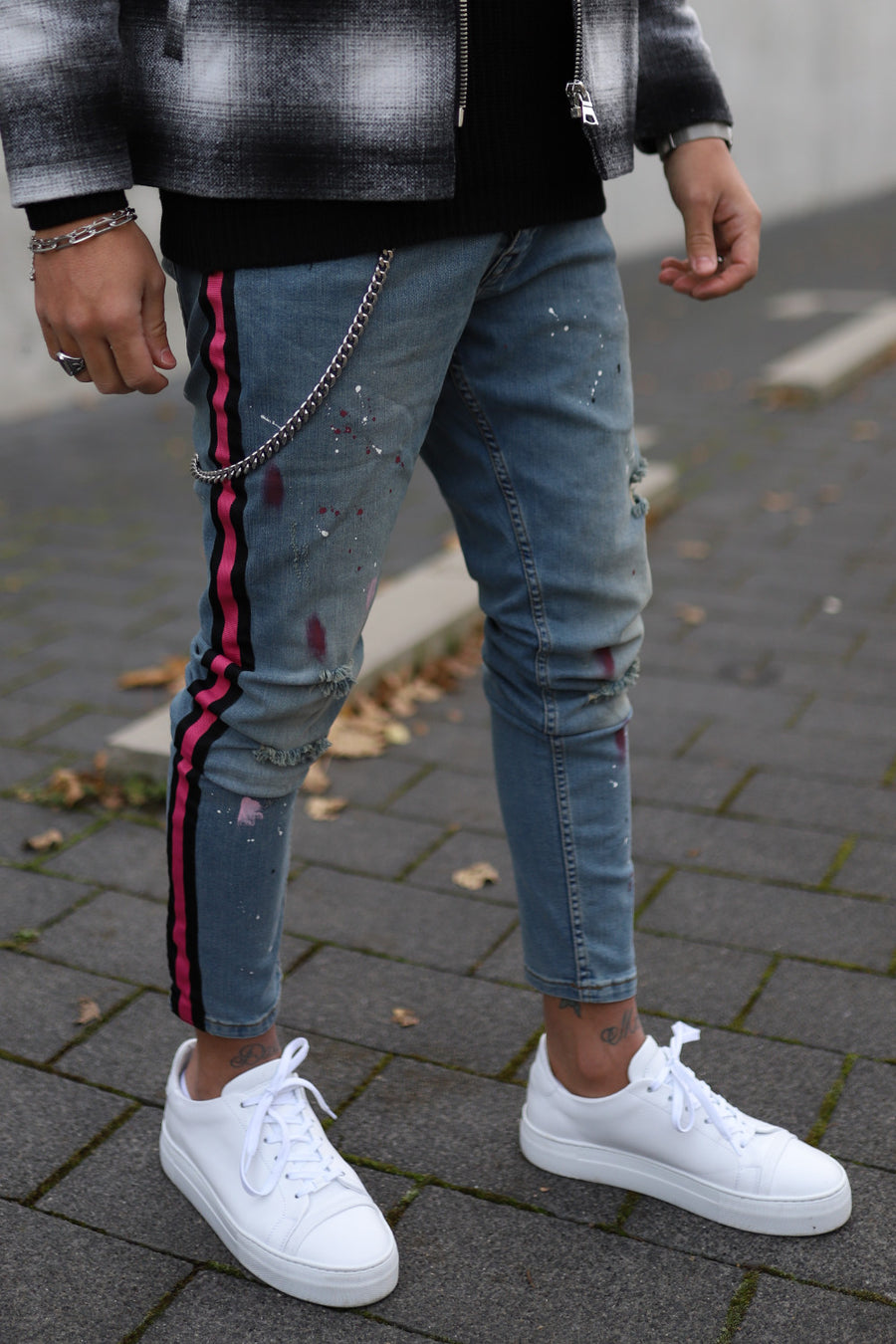 Destroyed Skinny denim 4851
