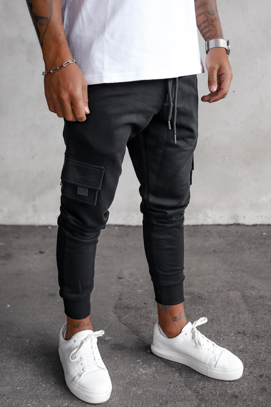 Cargo Sweat Pants YY1001B
