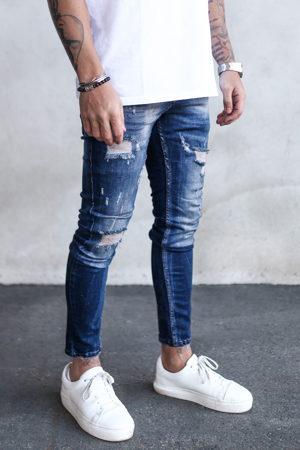 Destroyed Skinny Denim 1274