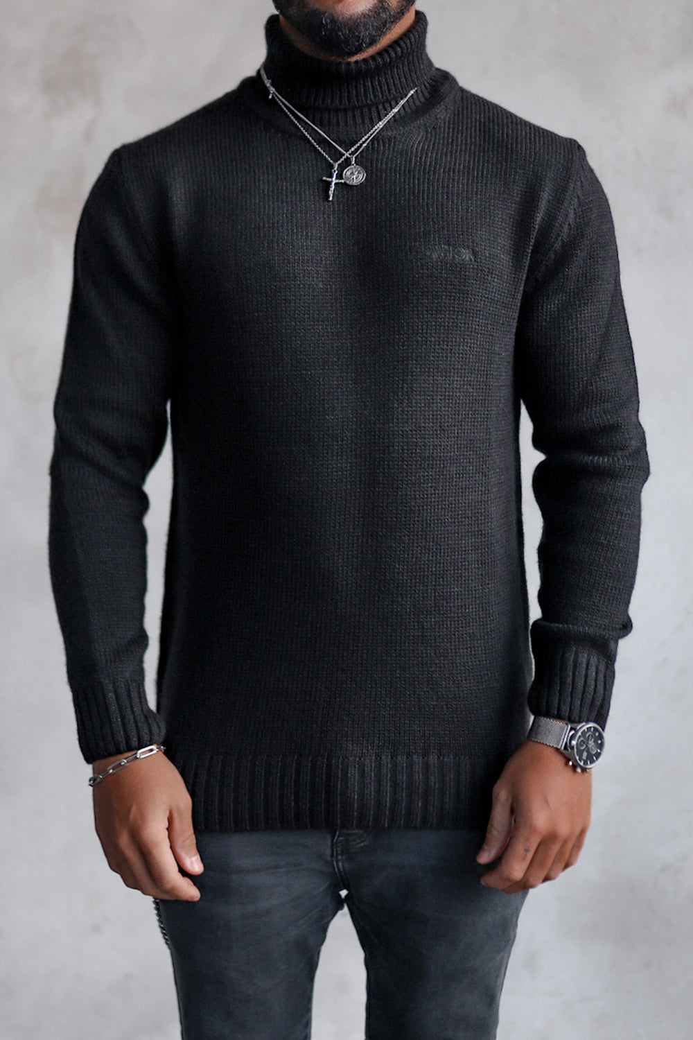 Knit Heavy Turtleneck K4003B