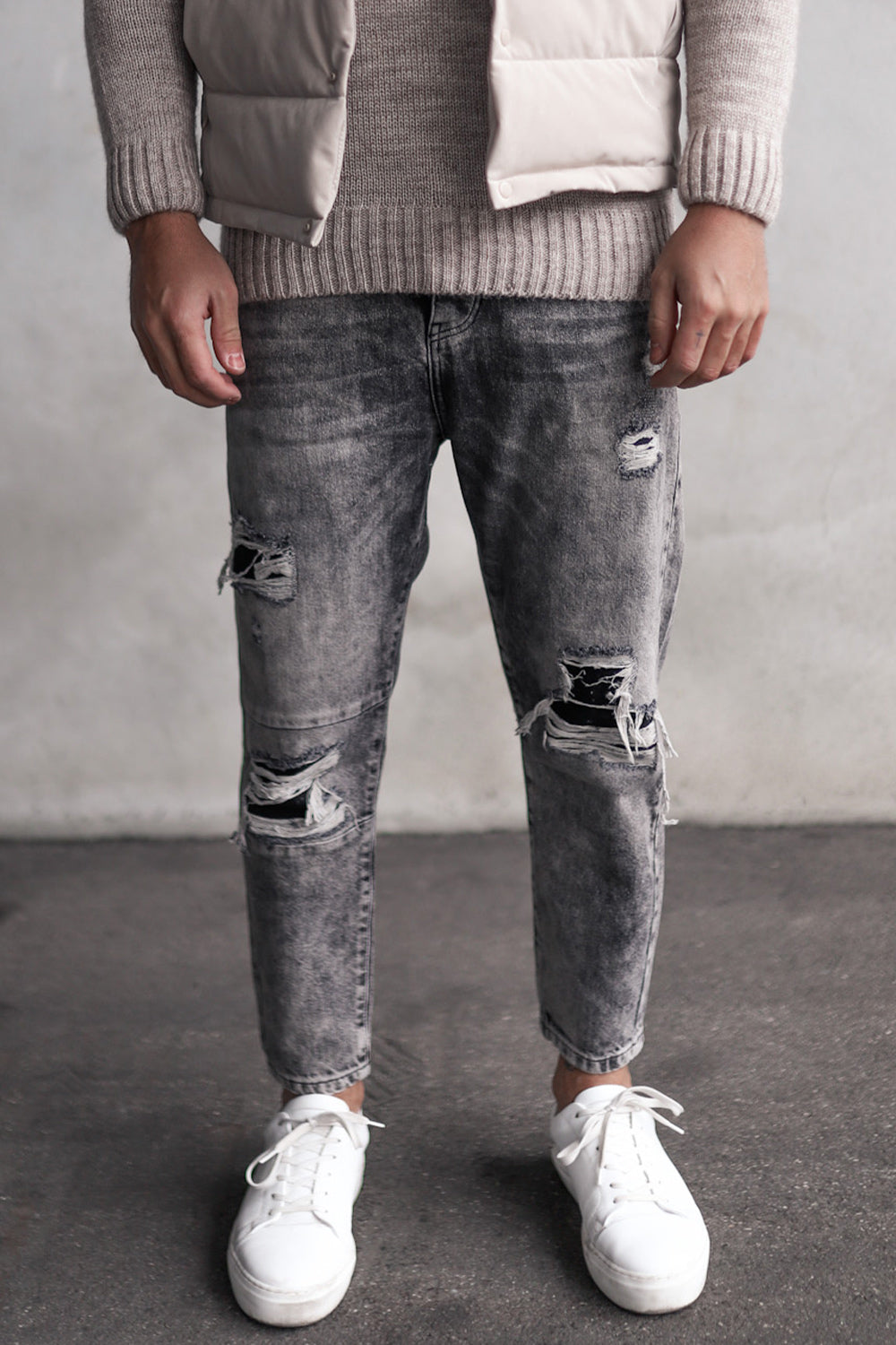 Destroyed Relaxed Denim 2Y5621