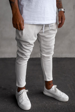 Cropped Sweat Pants P1071OW