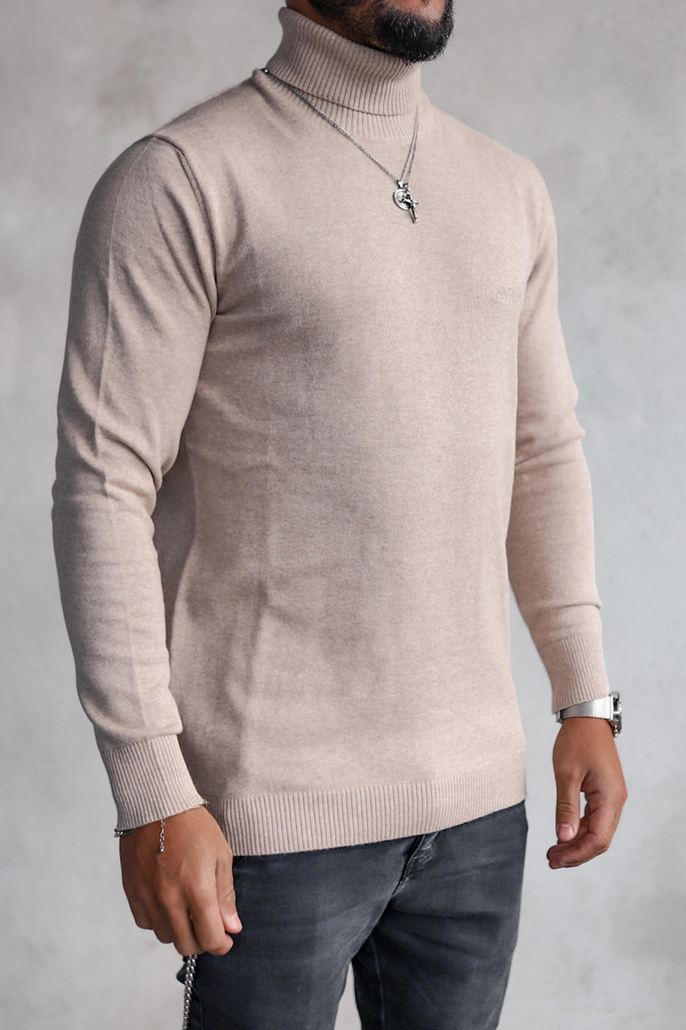 Knit Turtleneck K4001BE