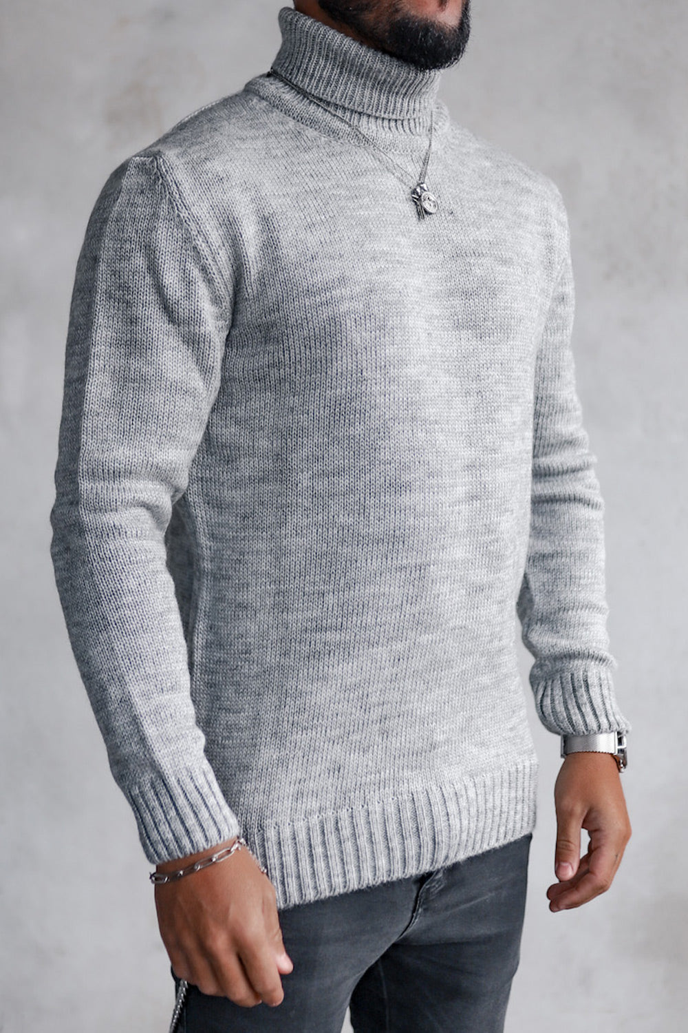 Knit Heavy Turtleneck K4003LG