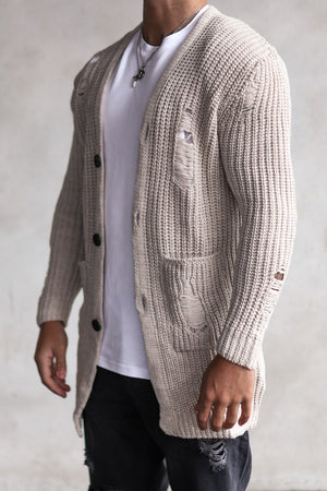 Knit Destroyed Cardigan 7027BE