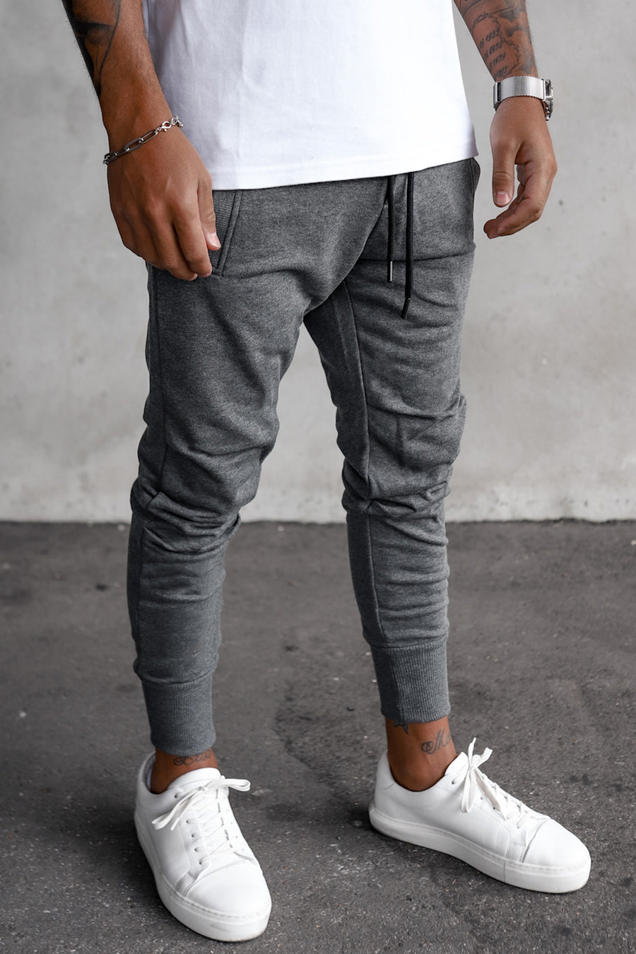 Cropped Sweat Pants YY1003G