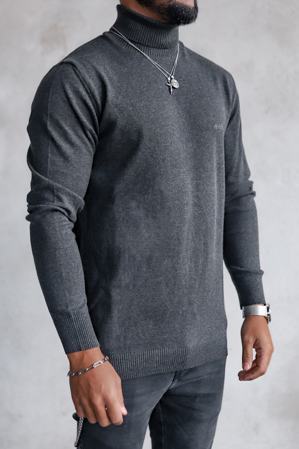 Knit Turtleneck K4001A