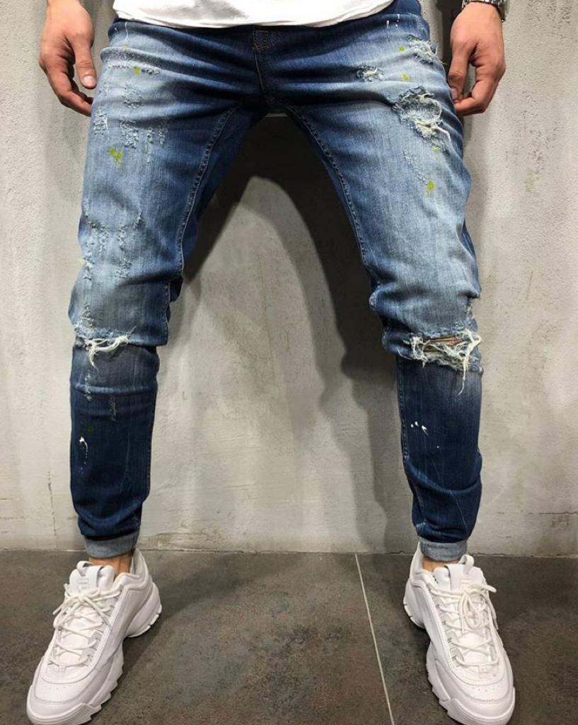 Destroyed Skinny Denim V1029