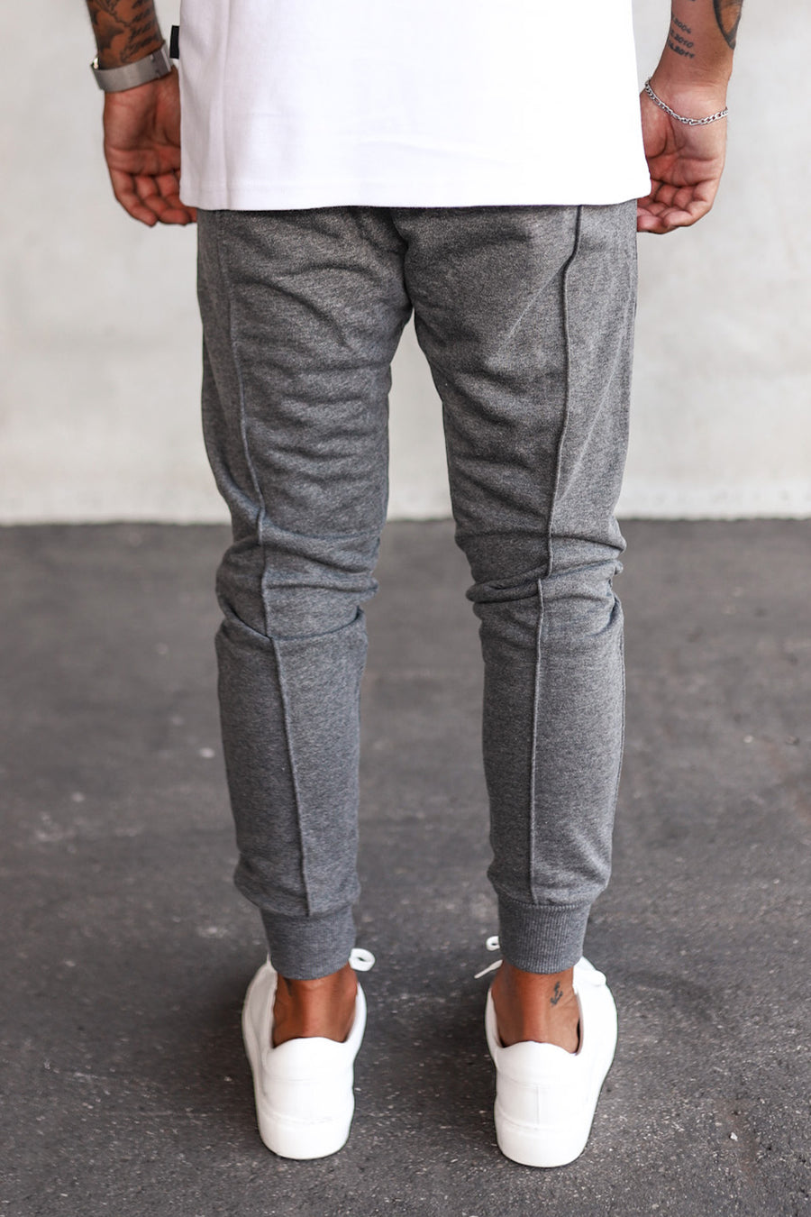 Cropped Sweat Pants YY1002G
