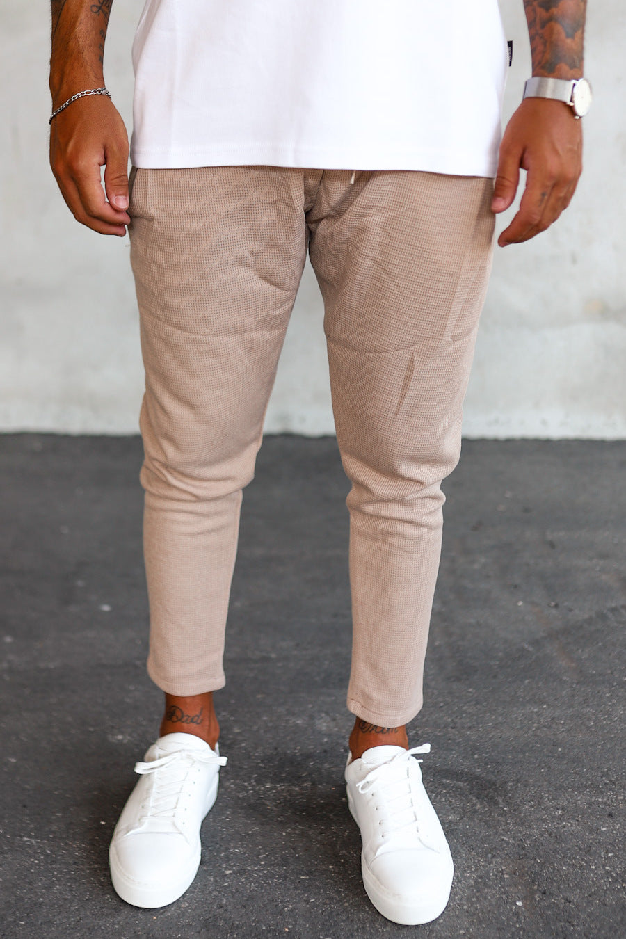 Cropped Sweat Pants P1071BE