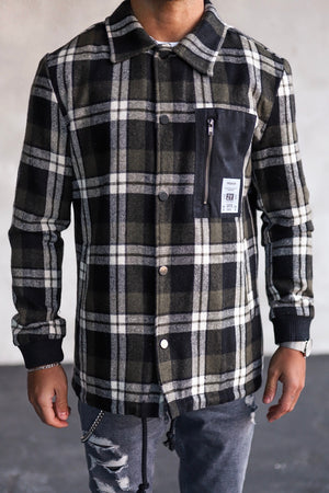 Flanell Jacket K1005GRE