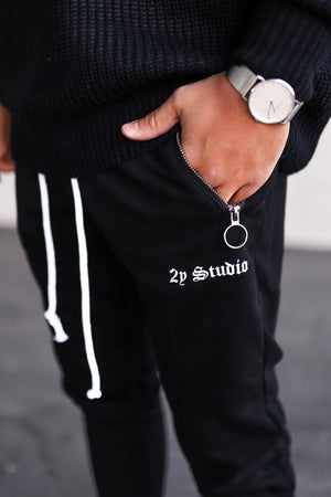 Cropped Sweat Pants SP7001B