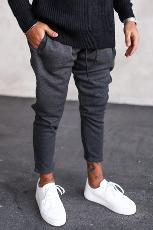 Cropped Sweat Pants P1071G