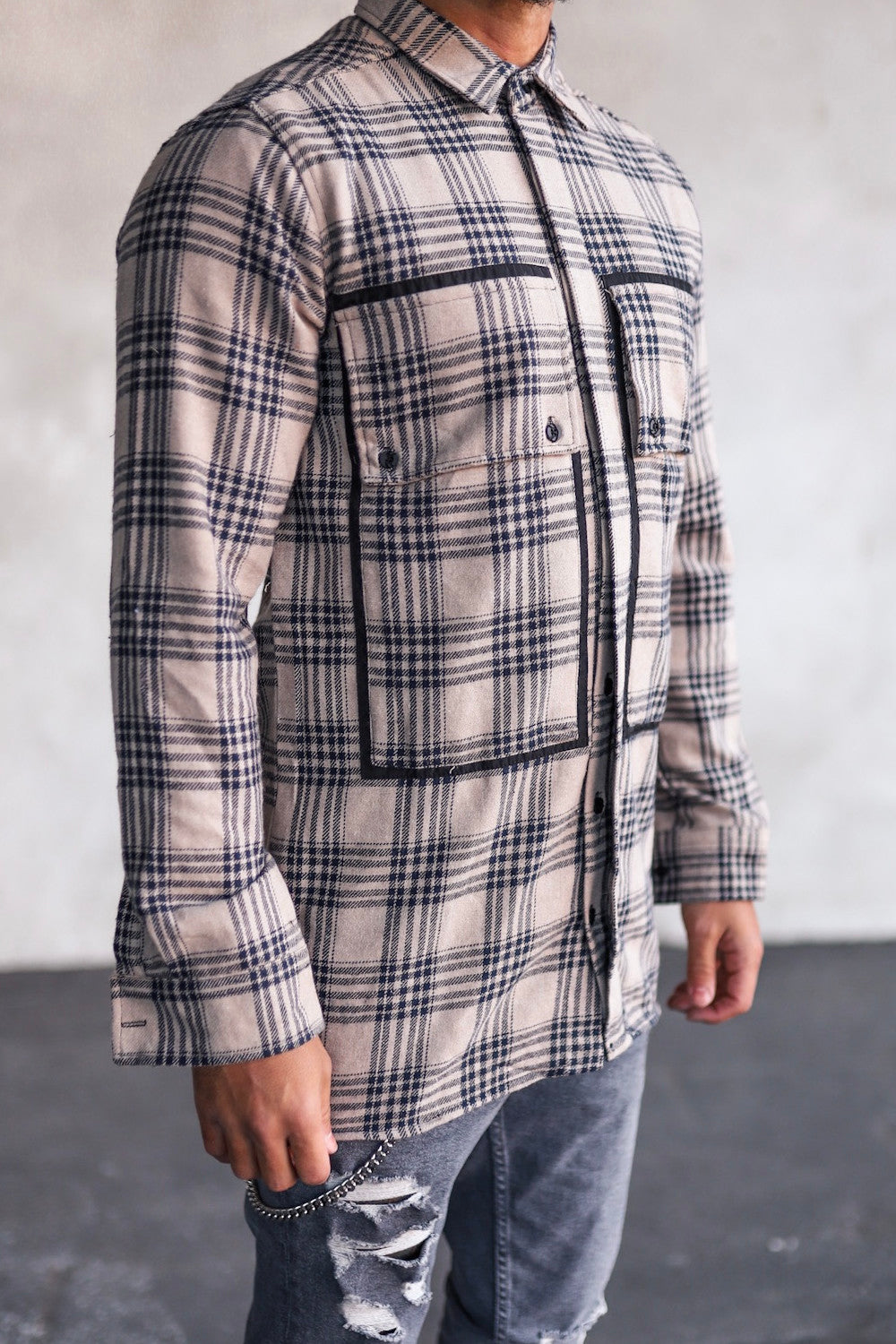 Flannel Shirt G1013BE