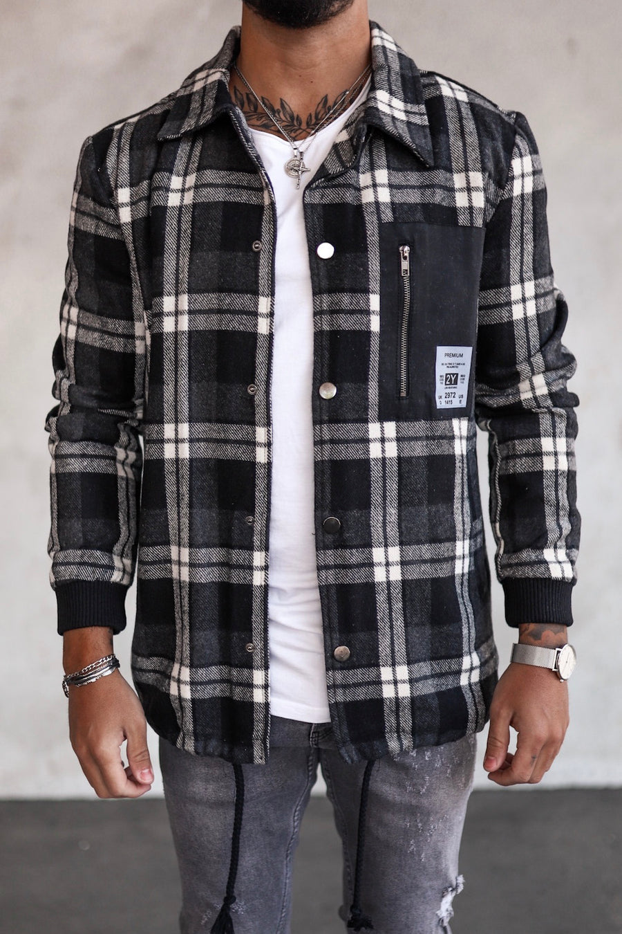 Flanell Jacket K1005B