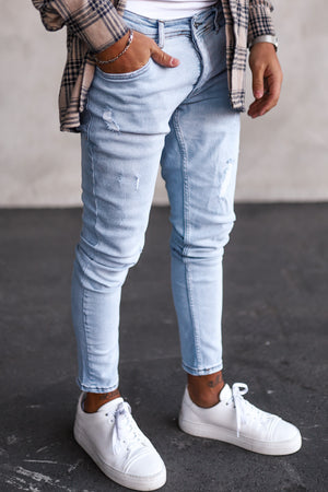Destroyed Skinny Denim 1015