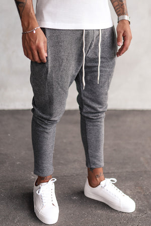 Cropped Sweat Pants P1078G