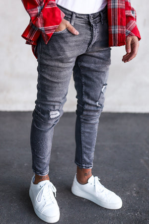 Destroyed Skinny Denim 234
