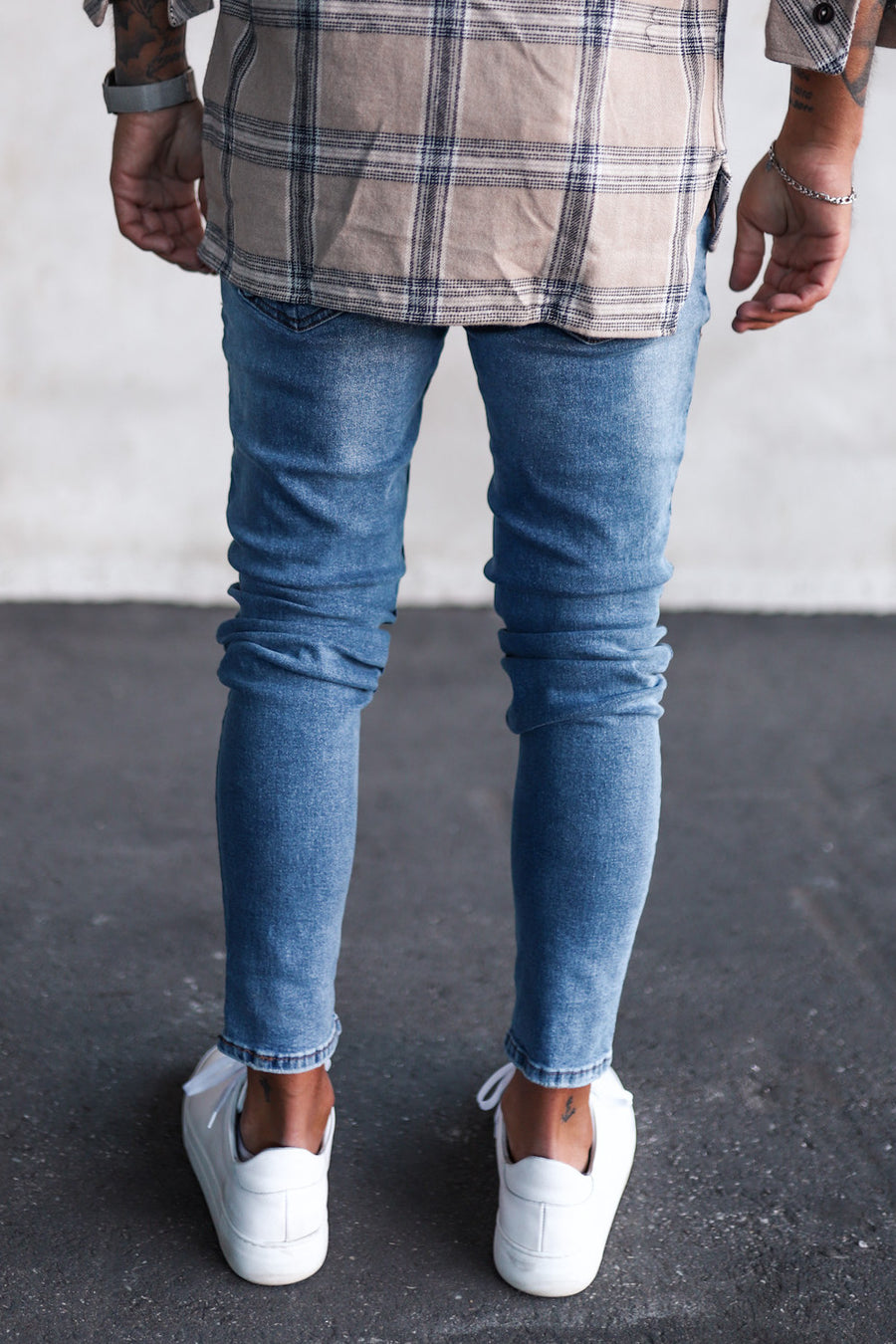 Destroyed Skinny Denim 1045