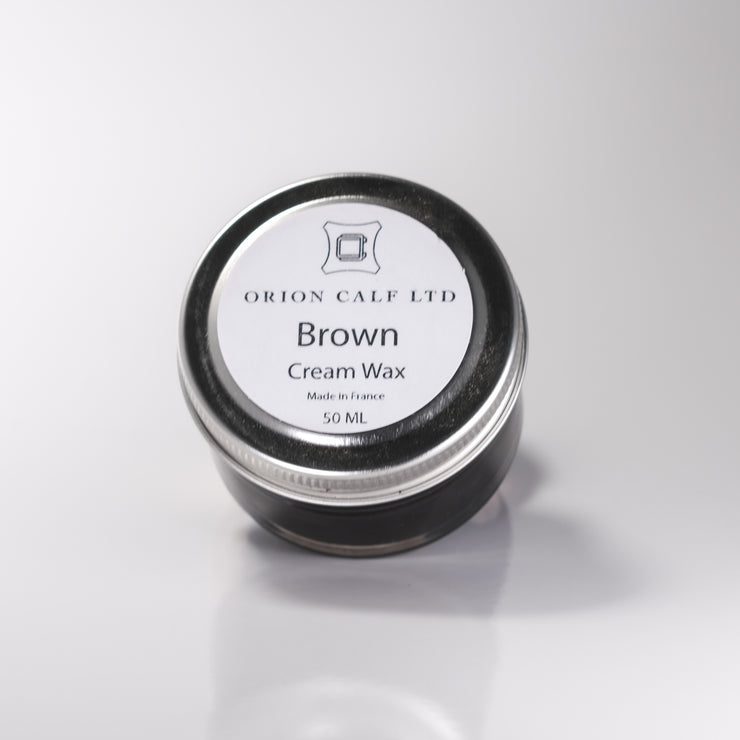 Cream Wax - Brown