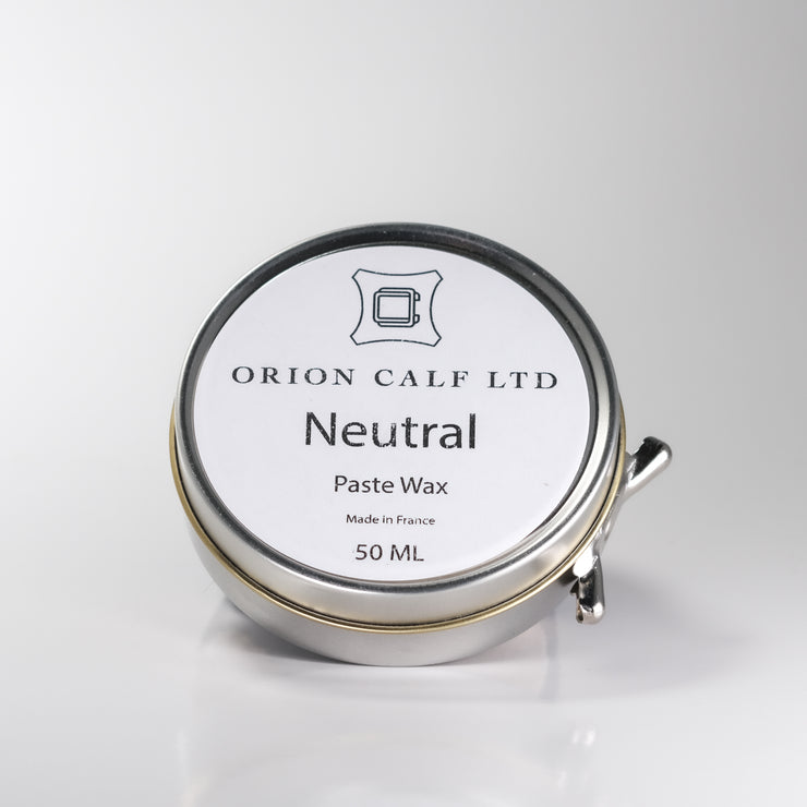 Paste Wax - Neutral