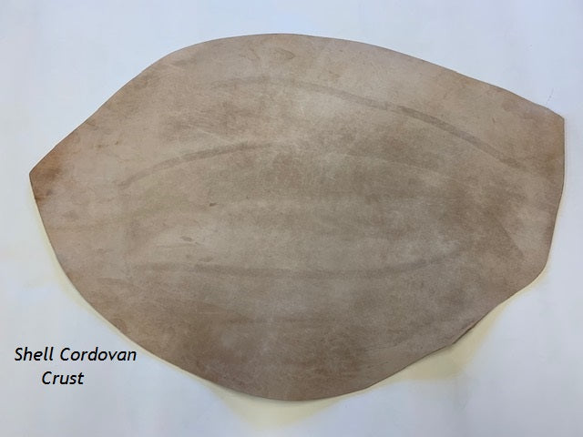 Shell Cordovan Crust Leather