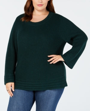 Style & Co. Womens Ribbed Pullover Sweater