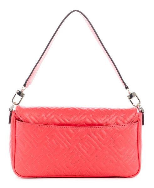 GUESS WOMENS BRIGHTSIDE SHOULDER BAG CHERRY