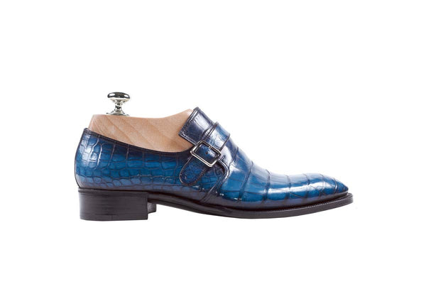 Monks Alligator Color: Blue