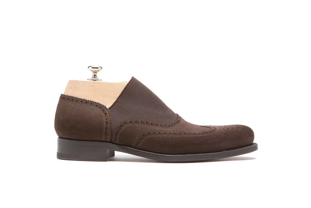 Loafers Cape But Color: Dark Brown Shape: 0657 Sole: Rendebach Construction: Blake Rapid Made in Italy