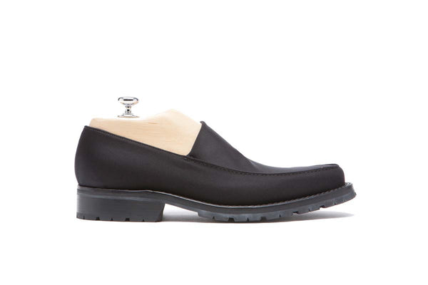 Loafers Lycra Fabrics Color: Black Shape: 0269 Sole: Climber Construction: Blake Rapid Made in Italy