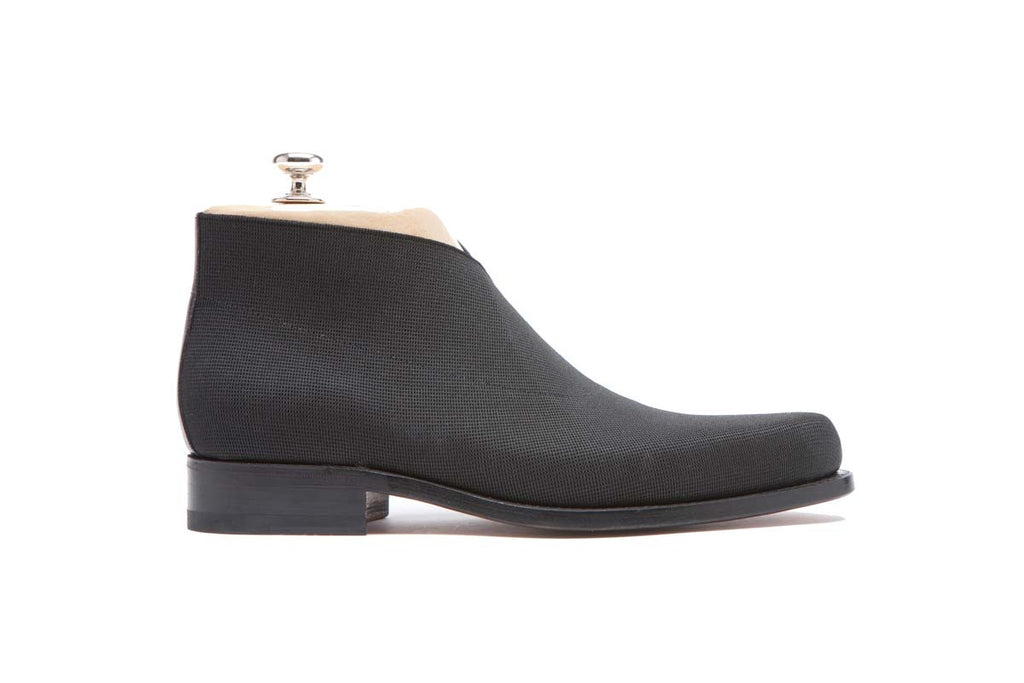 Boots Elastic Color: Black Shape: 0255P Sole: Rendebach Construction: Blake Rapid Made in Italy