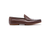 Loafers Python Color: Dark Brown Sole: Rendebach Construction: Blake Rapid Made in Italy