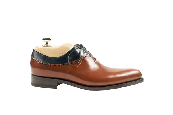 Oxfords Veal Puy Colors: Black and Kork Shape: 0431 Sole: Rendebach Construction: Blake Rapid