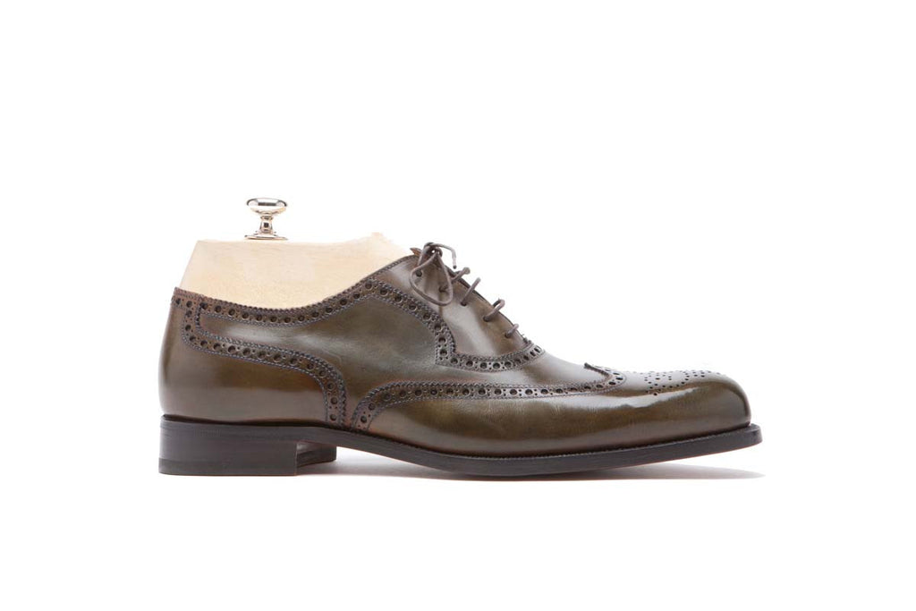 Derbies Veal Puy Color: Walnut Shape: 0657 Sole: Rendebach Construction: Goodyear Open Made in Italy