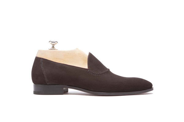 Loafers Cape Color: Dark brown Shape: 0837 Sole: Rendebach Construction: Blake Made in Italy