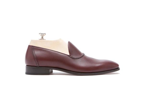 Loafers Veal Vaprolux  Color: Dark red Shape: 0837 Sole: Rendebach Construction: Blake Made in Italy