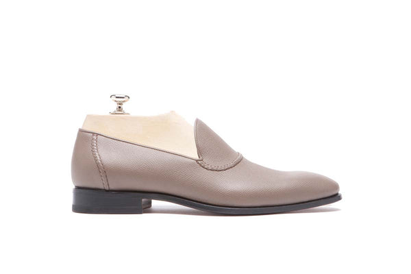 Loafers Veal Vaprolux  Color: Grey Shape: 0837 Sole: Rendebach Construction: Blake Made in Italy