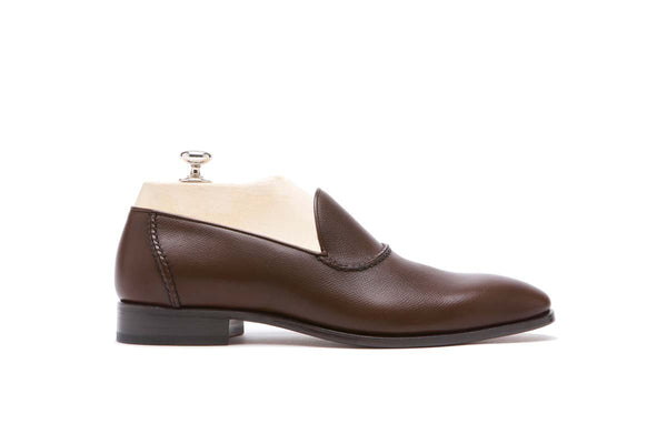 Loafers Veal Vaprolux  Color: Brown Shape: 0837 Sole: Rendebach Construction: Blake Made in Italy