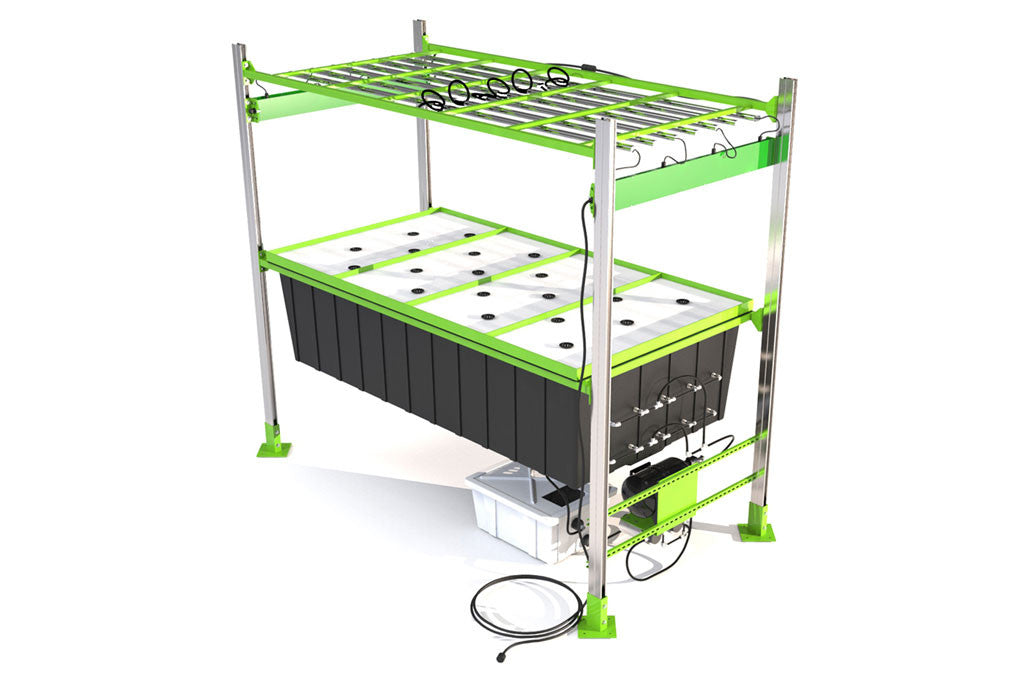 Our flagship modular high pressure aeroponic system for Indoor gardening machine