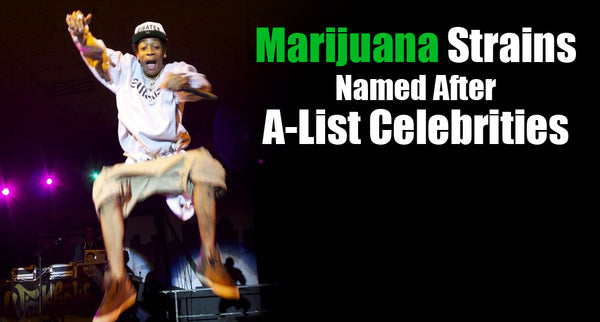 10 Self- Introducing Celebrity Weed Strains, Named After A-List Celebrities
